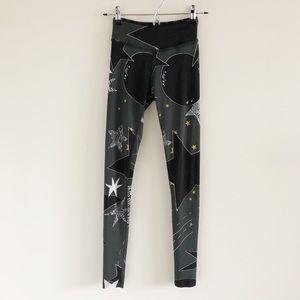 Beyond Yoga Lux Print Essential Legging Green S